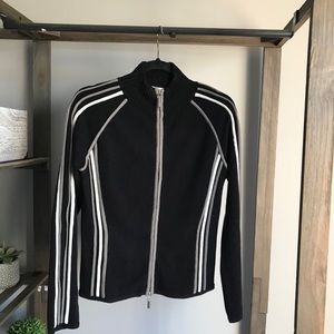 Apollo Jeans Black & White Full Zip Sweatshirt